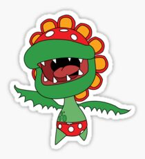 Petey Piranha Sticker