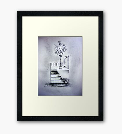Apartment Door Framed Print