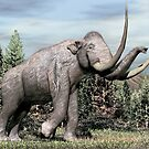 Columbian Mammoth (Mammuthus columbi) by Walter Colvin