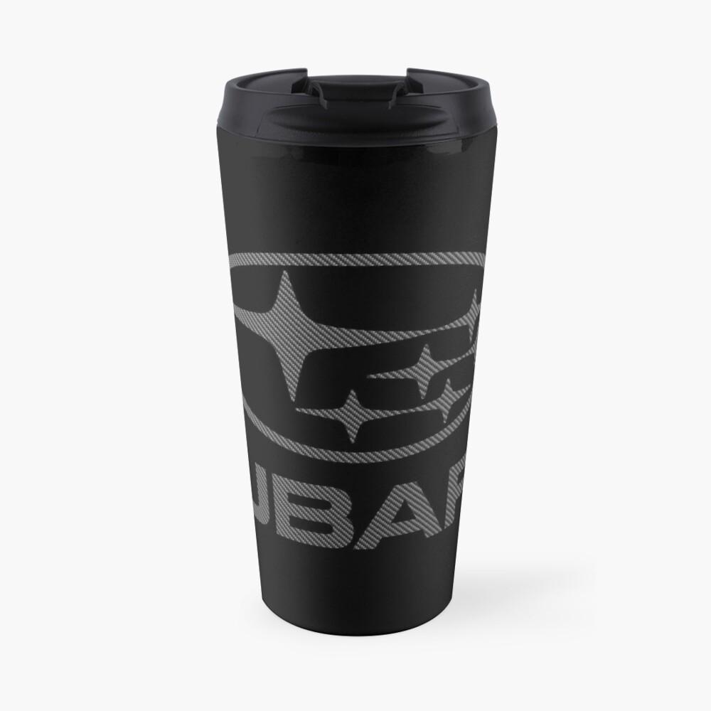 SUBARU-CARBON FIBER Travel Mug