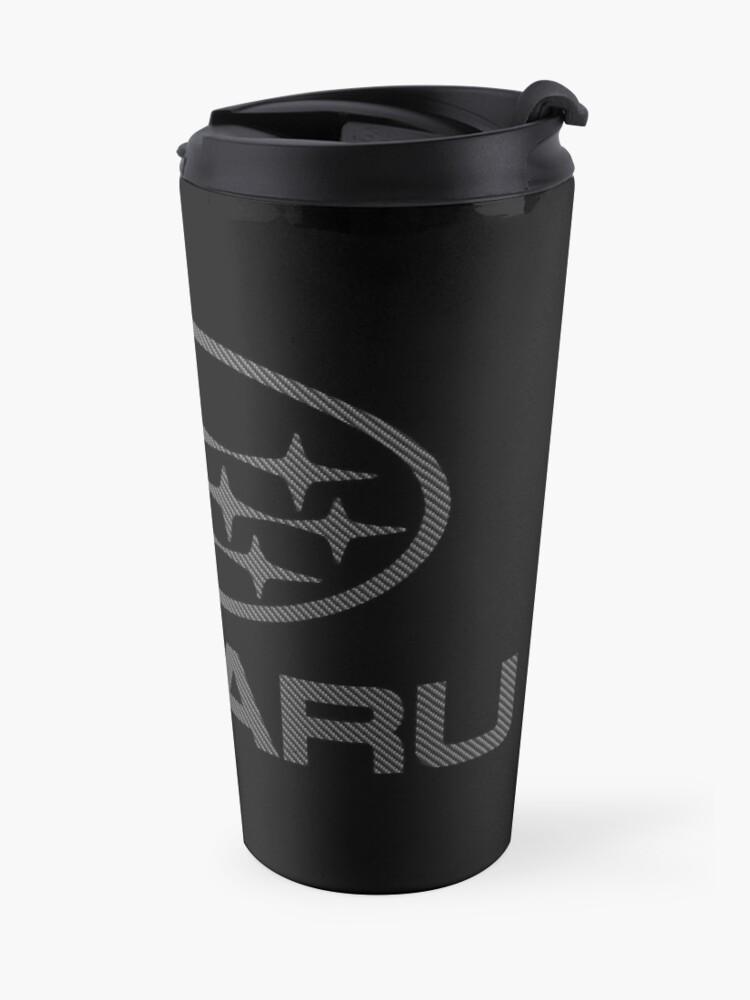 Alternate view of SUBARU-CARBON FIBER Travel Mug