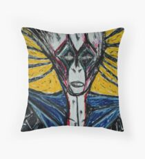 Clown that comes to Paradise Throw Pillow