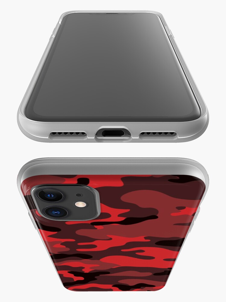 Alternate view of Red Camo iPhone Case & Cover
