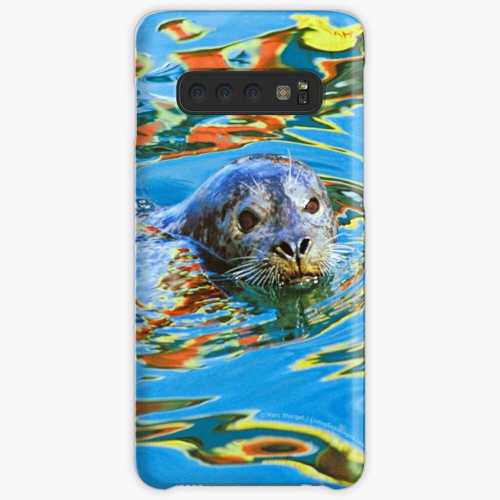 Harbor Seal in reflected color Case & Skin for Samsung Galaxy