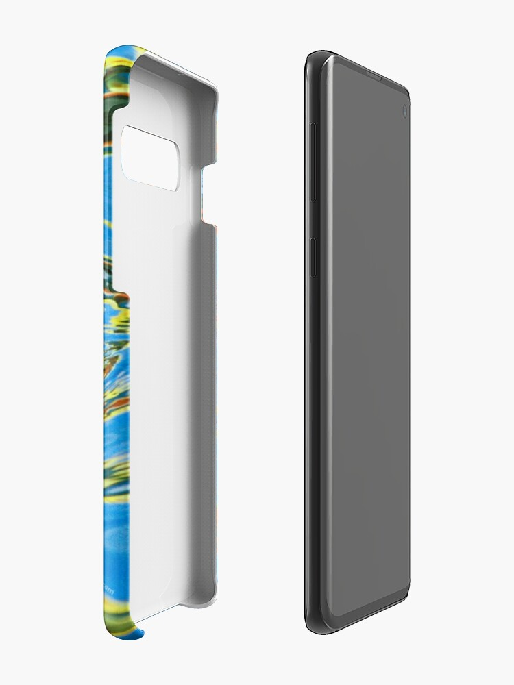 Alternate view of Harbor Seal in reflected color Case & Skin for Samsung Galaxy