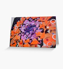 Kaleidoscope Collage 2 Greeting Card