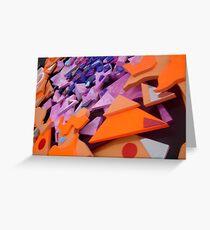 Kaleidoscope Collage Greeting Card
