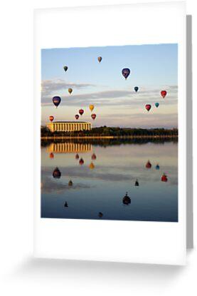 2011 Canberra Balloon Festival #2 by Melanie Roberts