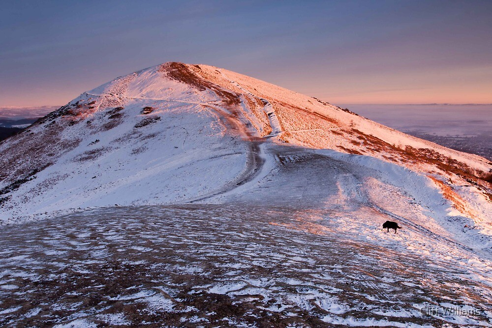Light on Worcester Beacon by Cliff Williams