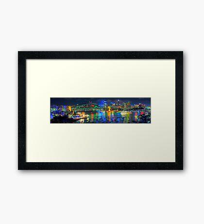 Sydney Fantasia - The HDR Experience Framed Print