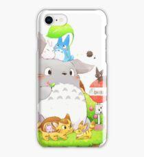 Totoro Family iPhone Case/Skin