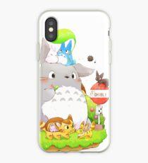 Totoro Family iPhone Case