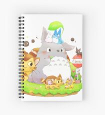 Totoro Family Cahier à spirale