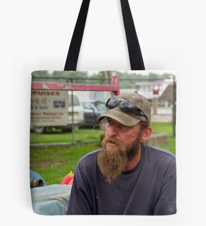 Portrait of a Stranger 1 Tote Bag