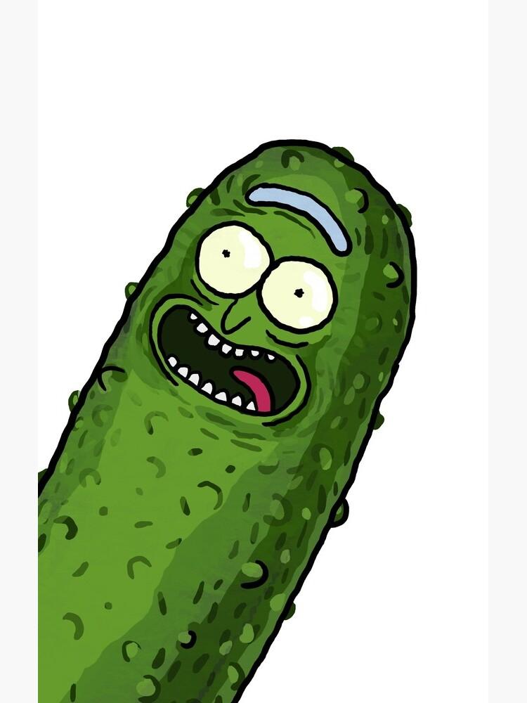 Pickle Rick by TristanKlein
