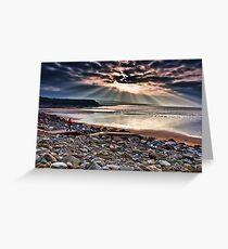 Lahinch Beach, County Clare, Ireland Greeting Card