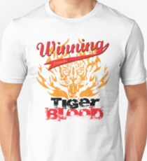 Winning Formula - Tiger Blood - Orange Tiger Unisex T-Shirt