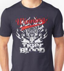 Winning Formula - Tiger Blood - White Tiger Unisex T-Shirt