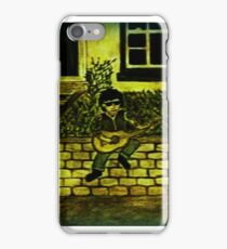 Lonely guitar iPhone Case/Skin