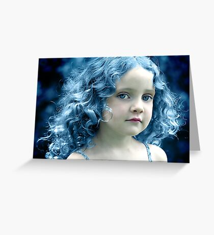 When the Blues Sing Greeting Card
