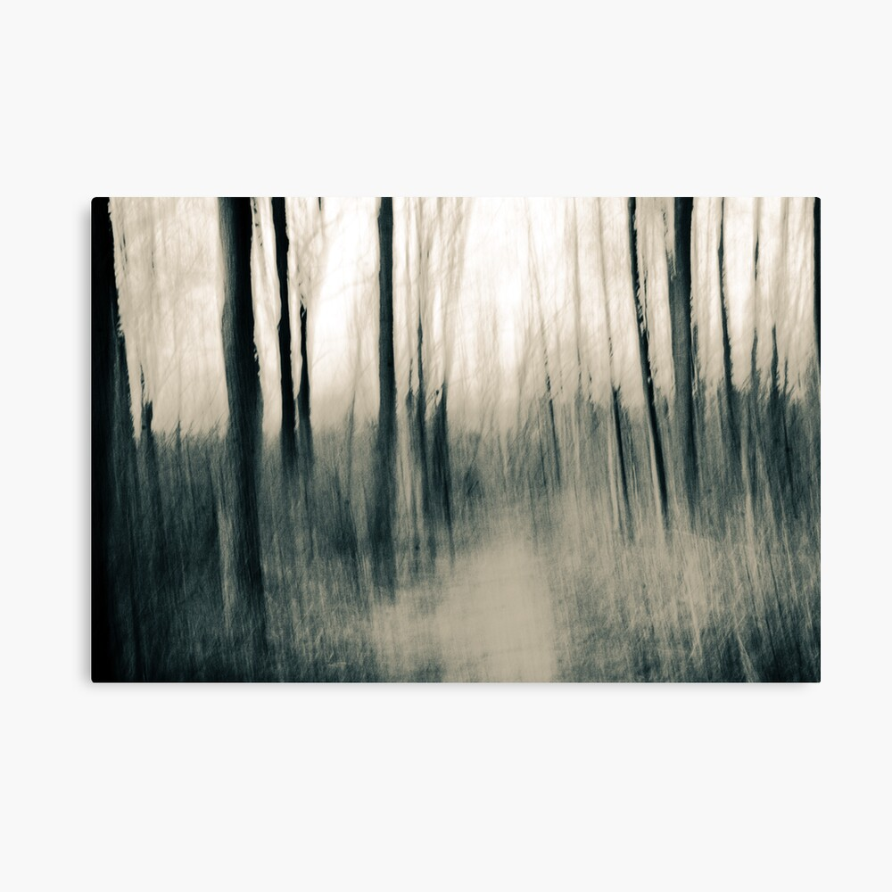 Turmoil surrounds us - an abstract expressionism Canvas Print