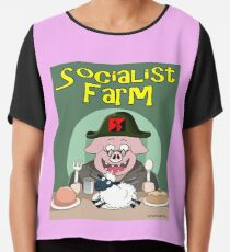 Socialist Farm Chiffon Top