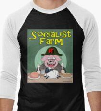 Socialist Farm Baseball ¾ Sleeve T-Shirt