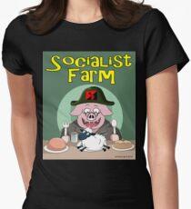 Socialist Farm Fitted T-Shirt