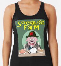 Socialist Farm Racerback Tank Top
