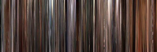 Moviebarcode: Three Colours: White (1994) by moviebarcode