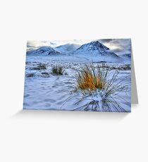 Ice on Fire Greeting Card