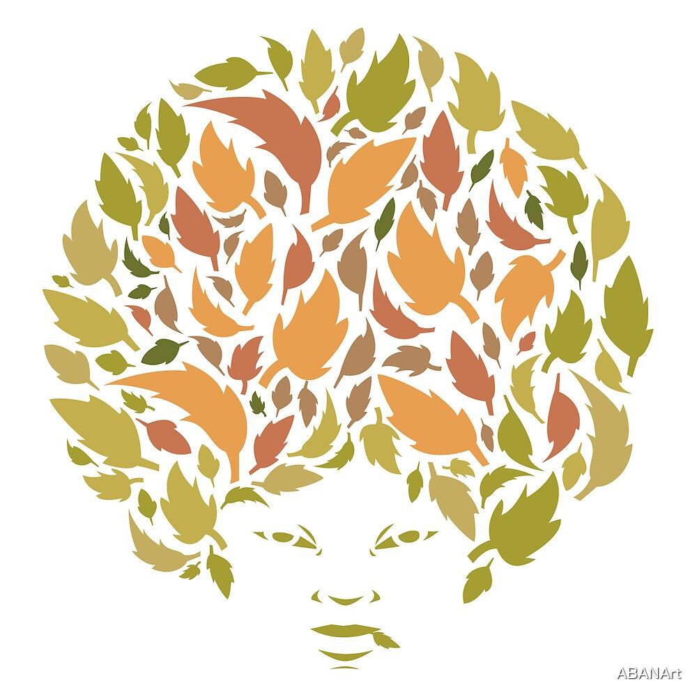 Autumn Hair  by ABANArt