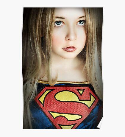 SUPER GIRL!!! Poster