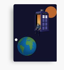 Doctor Who - A WhoView Canvas Print