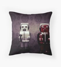The robots Throw Pillow