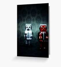 The robots Greeting Card