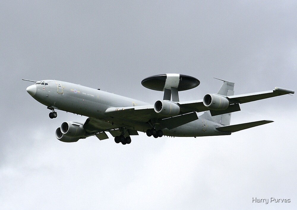AWACS, military flying hardware by Harry Purves