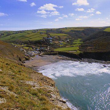 Cornwall: Crackington Haven by rob3003