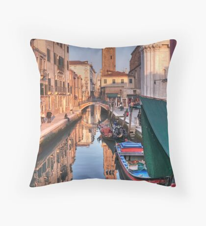 Rio and Church of St. Barnaba Throw Pillow