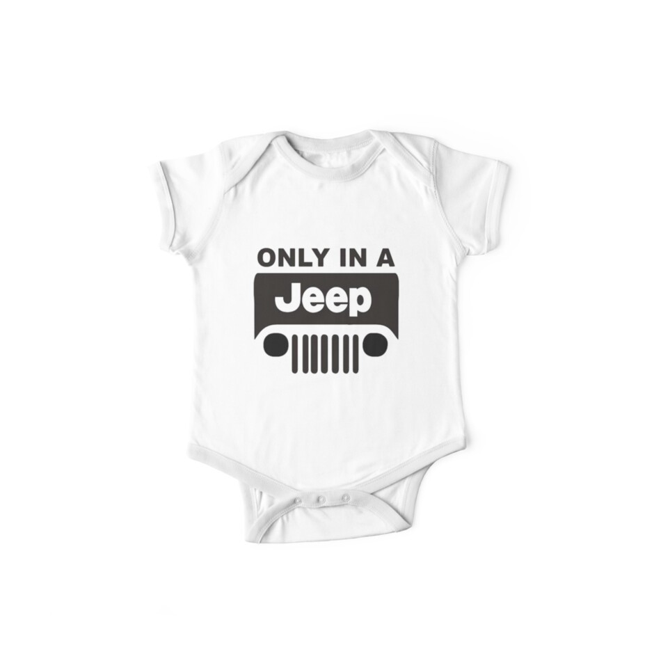 ONLY IN A JEEP by thatstickerguy