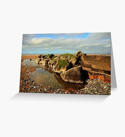 Rock Pool Greeting Card