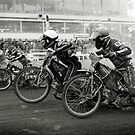Speedway - Accelerating away by Richard Flint