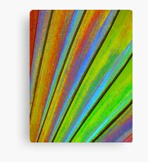Fantasy Palm Leaf Abstract 3 Canvas Print