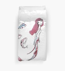 Koi Mermaid Duvet Cover