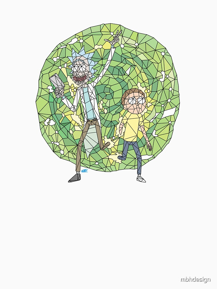 Rick and Morty by mbhdesign