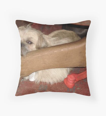 Jack in July (2010) Throw Pillow