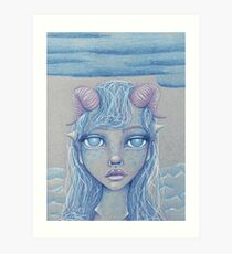 Mermaid of the Deep Art Print