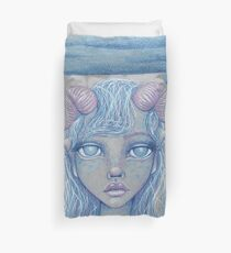 Mermaid of the Deep Duvet Cover