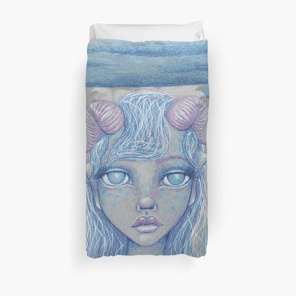 Mermaid of the Deep Duvet Cover