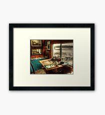 Artists Studio Nova Scotia Framed Print